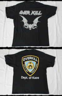 Overkill Shirt Dept. Of Kaos Tour 1994-95