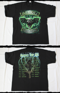 Overkill Shirt Electric Age Tour 2012