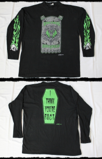 Overkill Shirt From The Underground And Below LS Tour 1997