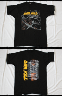 Overkill Shirt I Hear Black U.S.Tour 1993