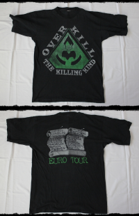 Overkill Shirt The Killing Kind Tour 1996