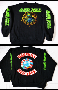 Overkill Sweatshirt  Horrorscope Tour 1991