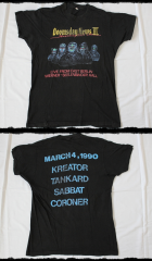 Thrash In East Berlin Shirt Tour 1990